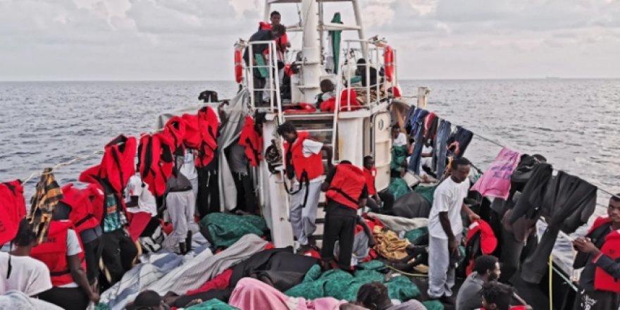 İtalya'dan Alman STK Gemisine El Koyma Kararı