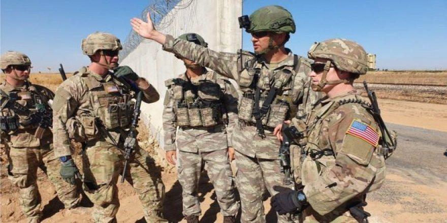 TSK ve ABD Ordusu Sınırın Suriye Tarafında Ortak Kara Devriyesi Yaptı