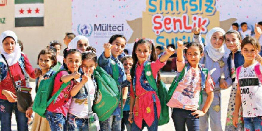 Suriye'de Çocukların Yüzü 'Sınırsız Şenlik'le Gülecek