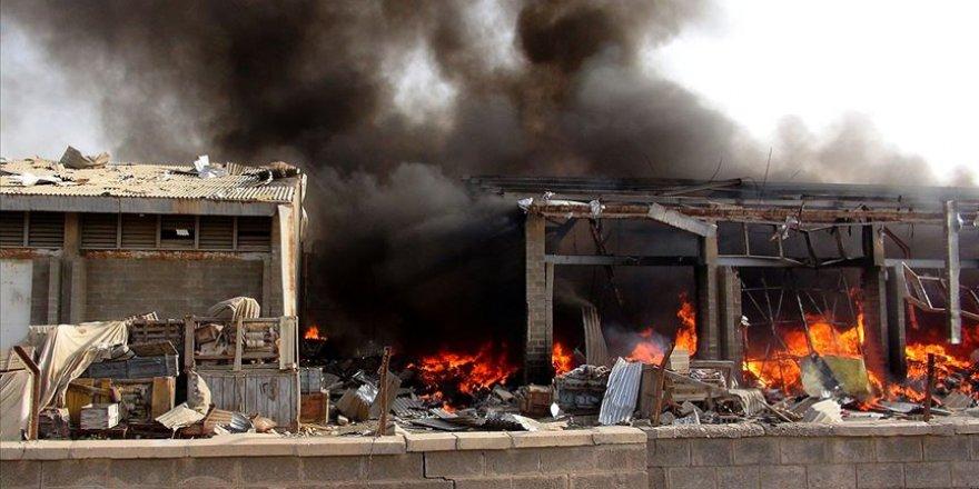 Hudeyde'de Husilere Ait Cephanelikte Patlama: 7 Sivil Öldü