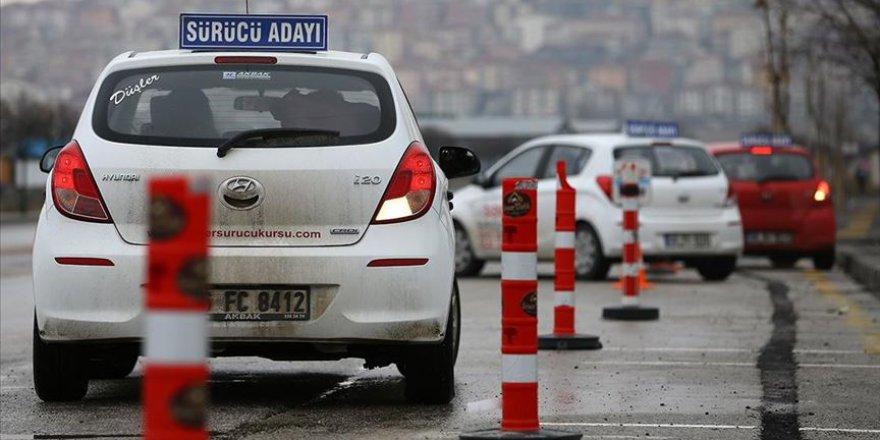 Sürücü Kurslarına 'Kota' Geldi