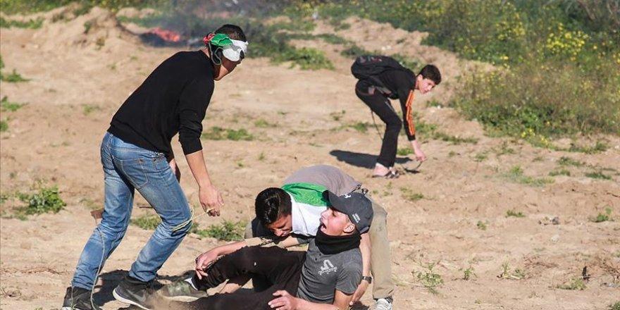 İşgal Güçleri Kudüs'te 46 Filistinliyi Yaraladı