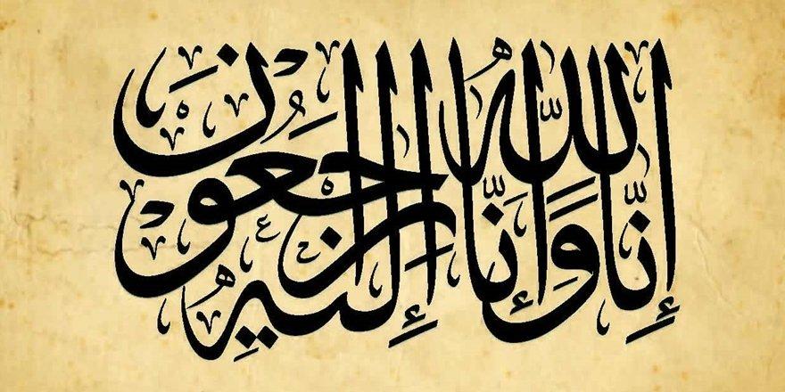 Naşit Nergiz Kardeşimizin Babası Mustafa Nergiz Vefat Etti