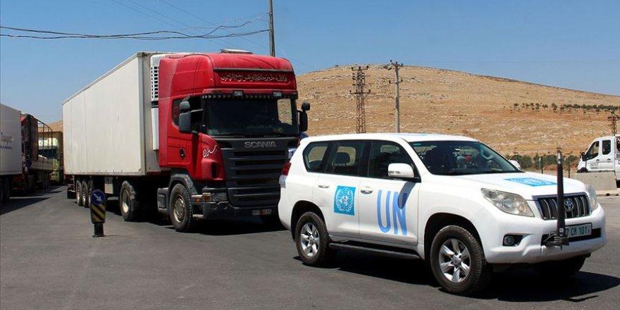 BM'den İdlib'e 30 Tır İnsani Yardım