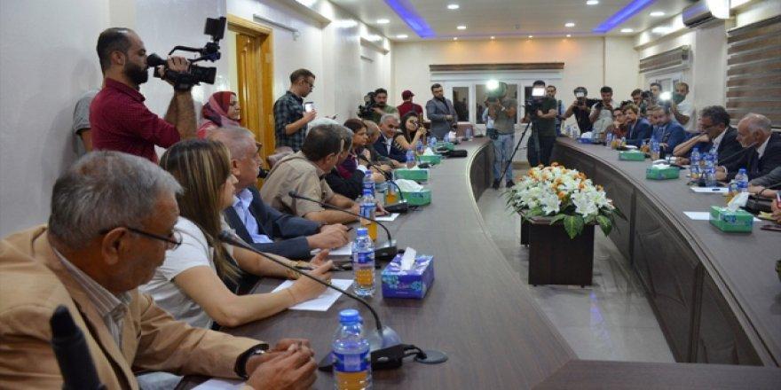 İngiliz Milletvekillerinden YPG/PKK'ya Ziyaret