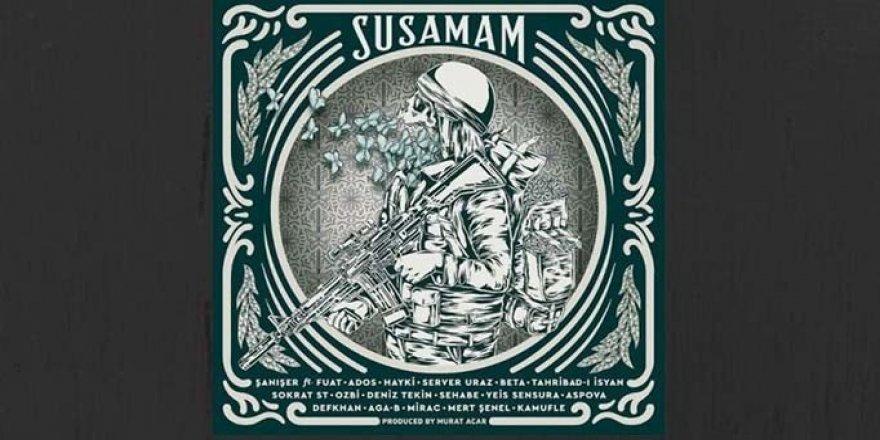 'Susamam' Şarkısını Söyleyen 18 Rapçi Hakkında Suç Duyurusu
