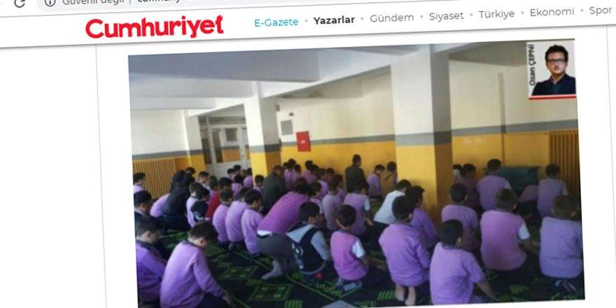 Derslere Cuma Ayarı Verilmesi Cumhuriyet'in Zoruna Gitti!