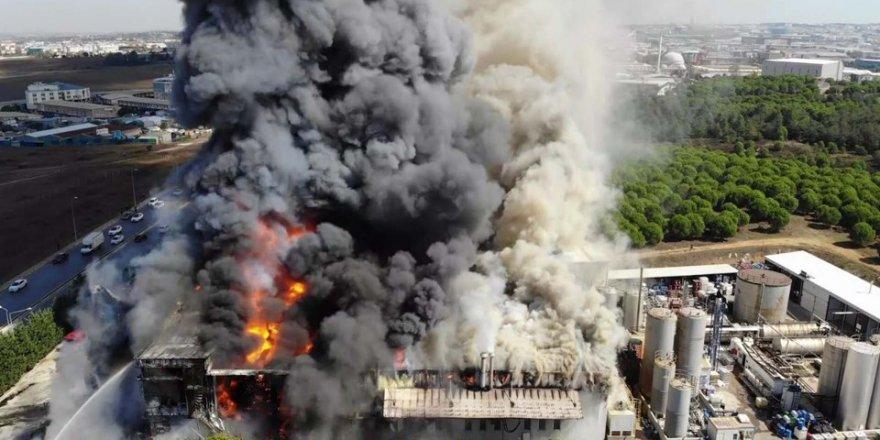 Tuzla'da Yangın Çıktı: Meteoroloji Açıklama Yaptı
