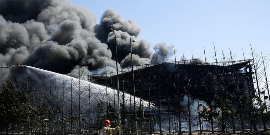AFAD: Tuzla'daki Yangın Sonrası Yapılan Ölçümlerde Olumsuz Bulguya Rastlanmadı