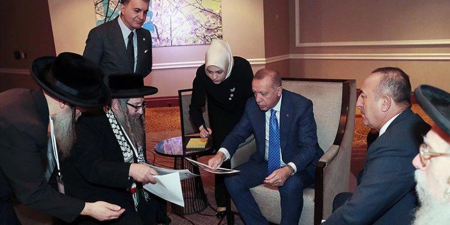 'Siyonizme Karşı Yahudiler Birliği' Heyetinden Erdoğan'a Ziyaret