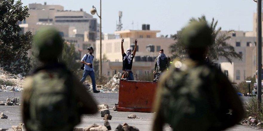 İşgal Güçlerinden Filistinli Tutuklulara Destek Gösterisine Müdahale