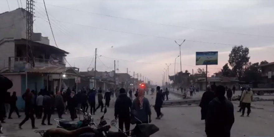 Haseke'de PKK/YPG Protesto Edildi