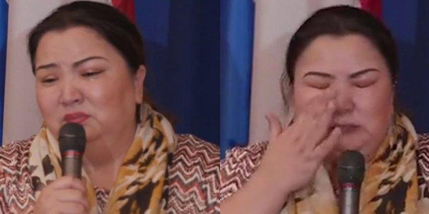 """BM Toplantısında Çin'in Toplama Kampını Anlattı: """"Söyle Allah'ına Seni Kurtarsın"""""""