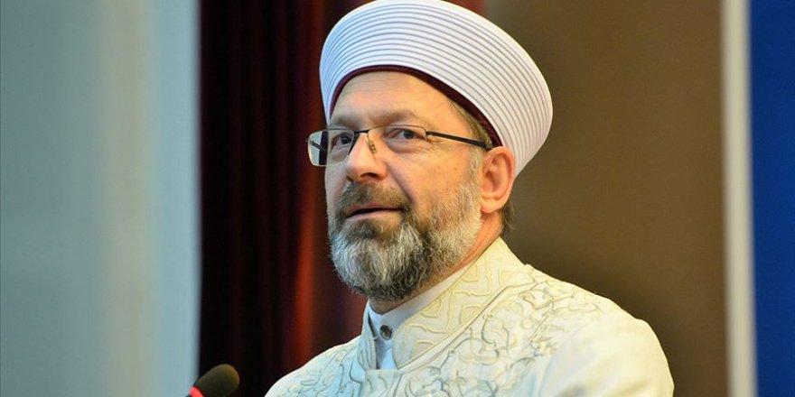 Hukukçular Derneği'den Sapkın Zihniyete Karşı Ali Erbaş'a Destek