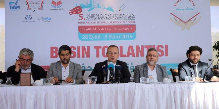 5. Uluslararası İstanbul Arapça Kitap Fuarı Yarın Başlıyor!