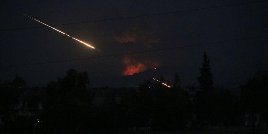 Deyrizor'da İran Devrim Muhafızları'na Hava Saldırısı