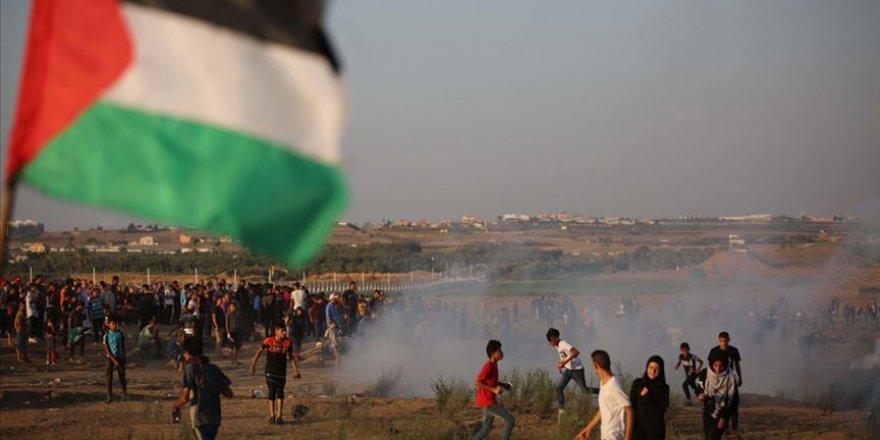 İşgal Güçleri Gazze'de Bir Filistinliyi Şehit Etti