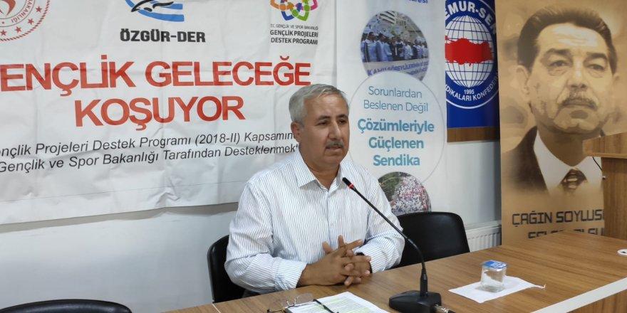 """Muş Özgür-Der'de """"İslam'da Tebliğ"""" Konusu Ele Alındı"""