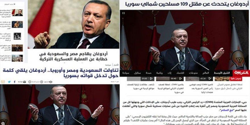 Erdoğan'ın Mısır ve Suudi Arabistan'a Yönelik Sözleri Arap Basınında