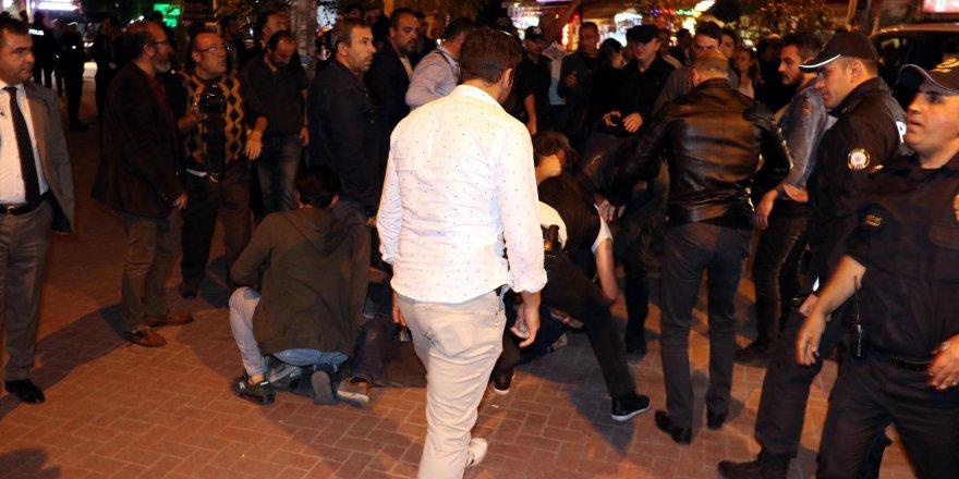 Ankara'da 'Barış Pınarı Harekâtı'nı Protesto Eden HDP'lilere Müdahale: 11 Gözaltı