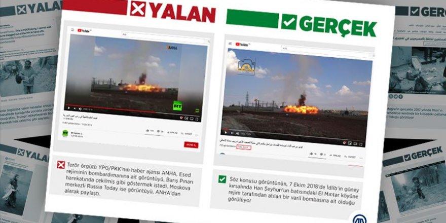 PKK, Esed Rejiminin Varil Bombasını, TSK Saldırısı Gibi Gösterdi