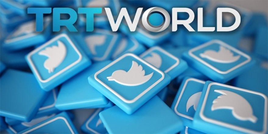 Twitter'dan TRT World İçeriklerine Sınırlama
