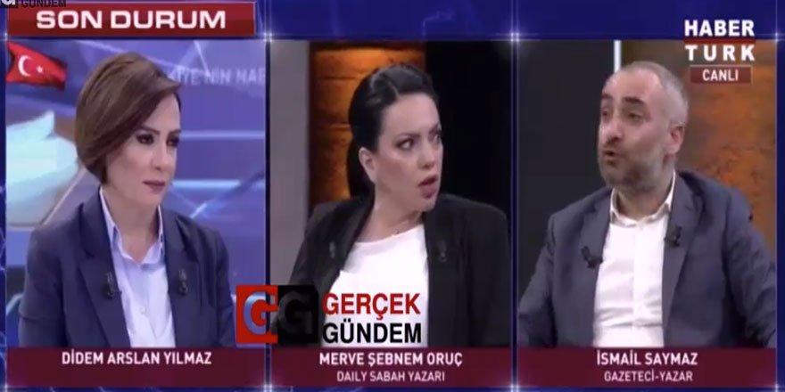 "Merve Şebnem'den İsmail Saymaz'a: ""Neden Bu Kadar Sinsisin?"""