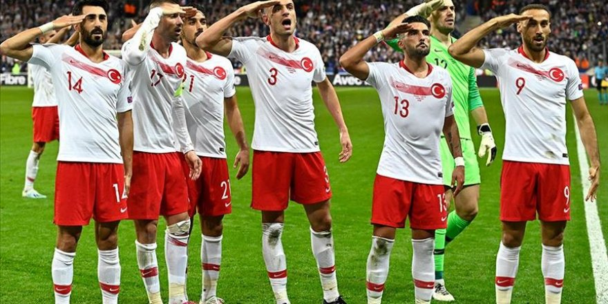 UEFA'dan Türkiye Milli Takımının Asker Selamına Soruşturma