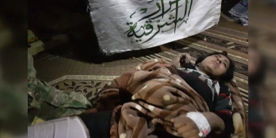 Milli Ordu'dan Yaralı YPG/PKK'lıya İnsani Müdahale