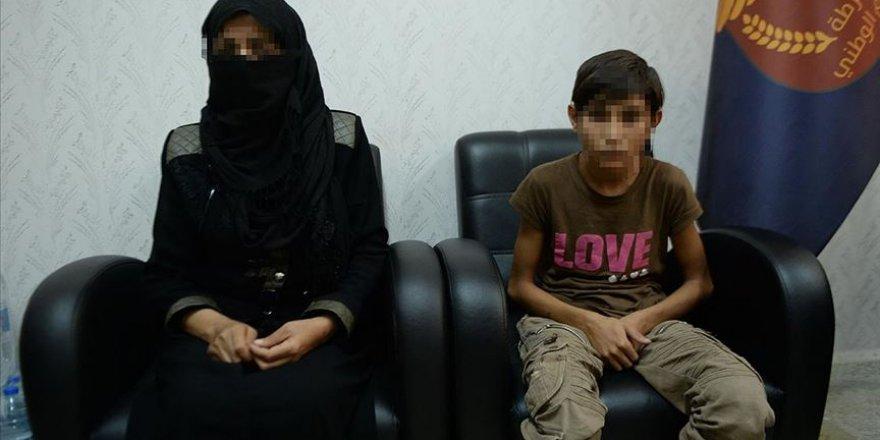 YPG/PKK Bir Anne ve Oğlunu Bombalı Saldırıya Zorlamış