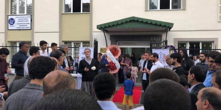 Özgür-Der Diyarbakır Şubesinin Yeni Binası Açıldı
