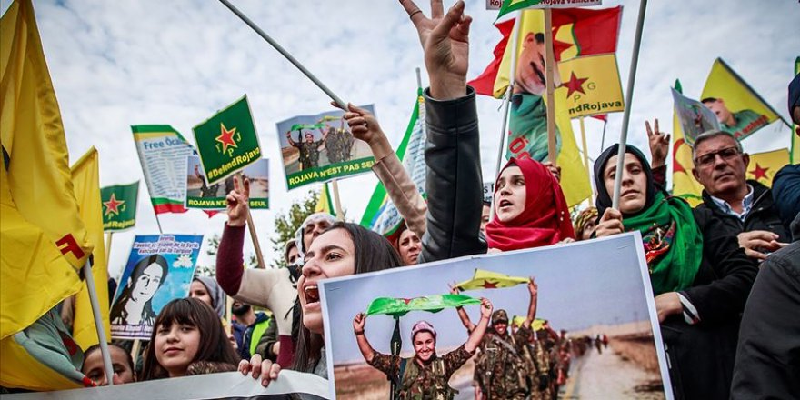 'YPG-PKK Bağlantısı' Avrupa Sokaklarında
