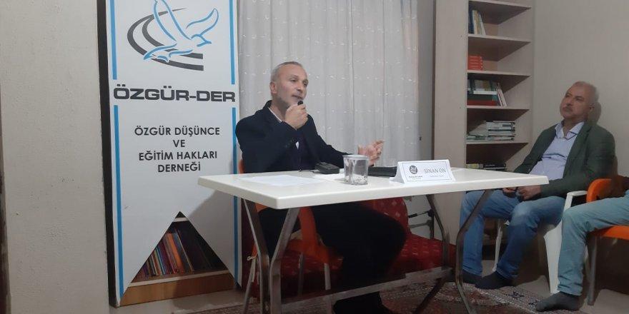 Yalova Özgür-Der'de ''Toplumsal Değişim ve Erdemli İnsanın İnşası'' Konuşuldu