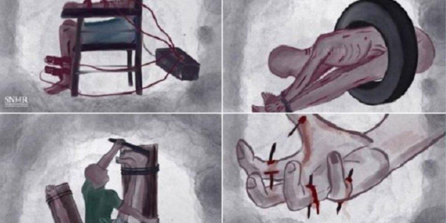 Rejim Zindanlarında 14 Binden Fazla Suriyeli İşkenceyle Öldürüldü