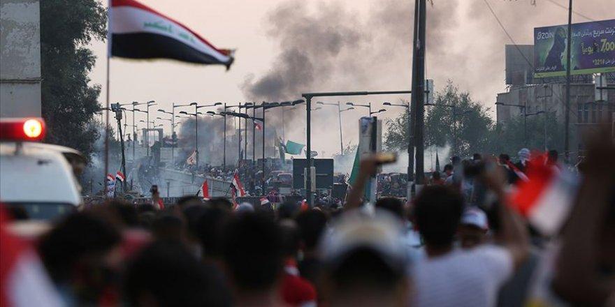 Irak'ta Baro ve İşçi Sendikaları Konfederasyonu da Protestolara Katılıyor