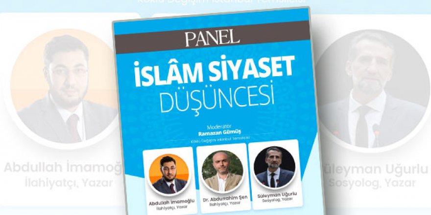 """Köklü Değişim Dergisinin """"İslam Siyaset Düşüncesi"""" Paneline Sudan Gerekçelerle Engelleme"""