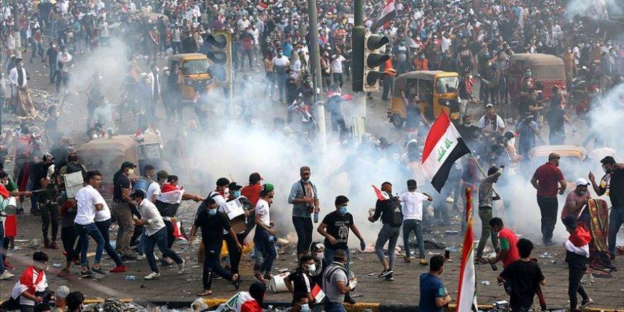 Irak'ta Yeniden Alevlenen Gösteriler Birinci Haftasını Doldurdu