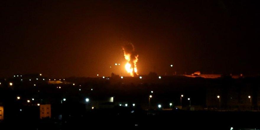 İşgalci İsrail'den Gazze'ye Hava Saldırısı: 1 Şehit