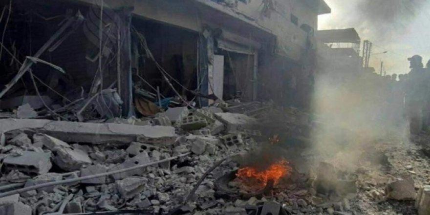 Tel Abyad'da Pazar Yerine Bombalı Saldırı: 13 Ölü