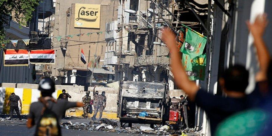 Irak'ın Basra Kentindeki Gösterilerde 8 Kişi Öldü