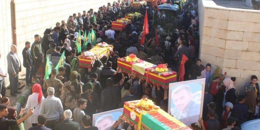 Haseke'de 12 YPG/PKK'lı Öldürüldü