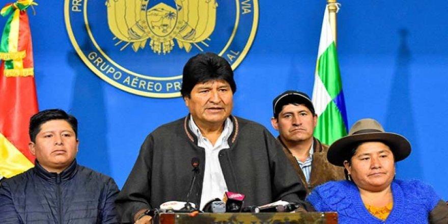 İstifa Eden Morales Hakkında Yakalama Kararı Çıkarıldı