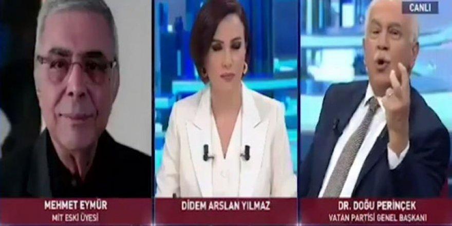 """Mehmet Eymür'den Perinçek'e: """"Hiram Abas'ı Siz Öldürttünüz"""""""