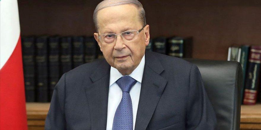 Lübnan Cumhurbaşkanı Avn'dan Göstericilere 'Beğenmiyorsanız Gidin' Mesajı