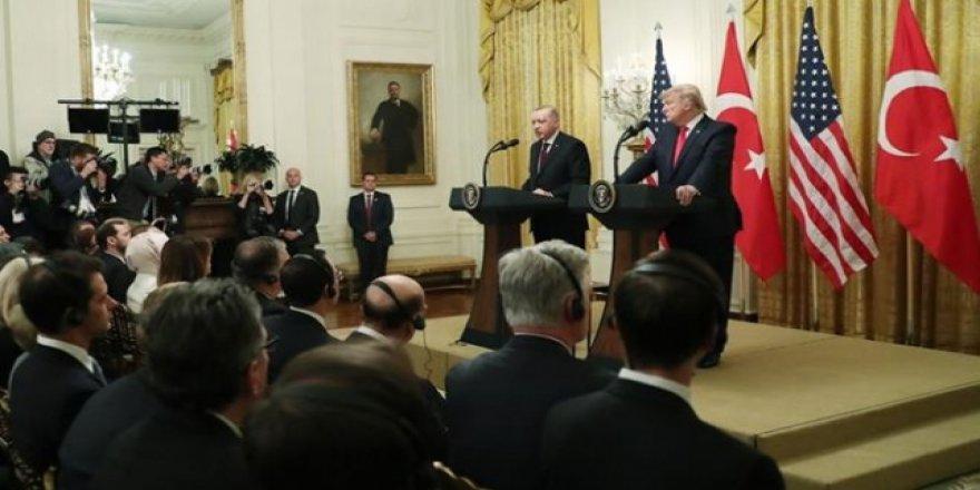 Erdoğan ve Trump'dan Ortak Basın Açıklaması