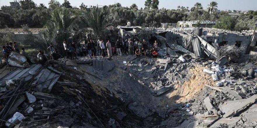 Siyonist İsrail'in Son Saldırılarının Gazze'ye Verdiği Zarar 2 Milyon Dolar