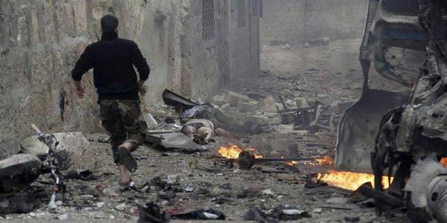 BM: İdlib'e Son İki Günde 100'den Fazla Hava Saldırısı Düzenlendi