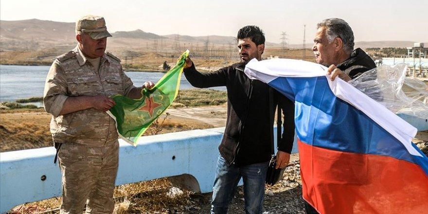 Tışrin'de YPG ile Rusya Arasında Devir Teslim Töreni!