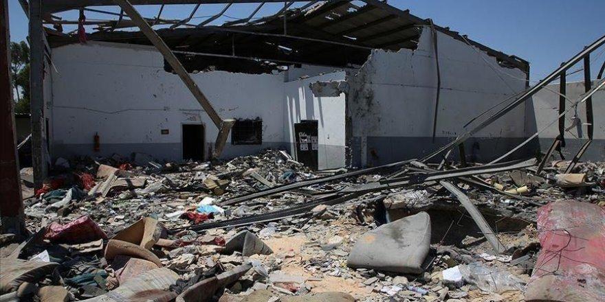 Trablus'ta Fabrika Vuran BAE 7 İşçiyi Katletti!