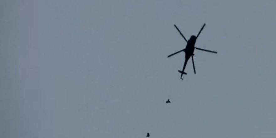 Esed Rejiminin Varil Bombası Yüklü Helikopteri Patladı